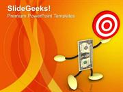 FINANCE SET TARGETS FOR EARNING MONEY PPT TEMPLATE