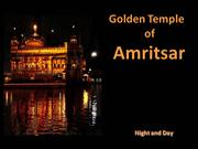 Golden Temple at  Anritsar