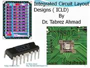 Integrated Circuit Layout Design Law