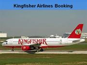 kingfisher Airlines Flight Booking
