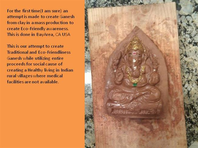Clay Ganesh Made Out from Mould |authorSTREAM