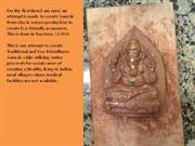 Clay Ganesh made out from Mould