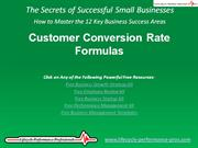VIDEO: Measuring Your Customer Conversion Rates and Forecasting Sales