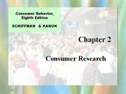 schiffman02  consumer research