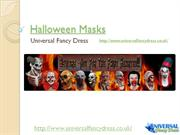 Halloween Masks from Universal Fancy Dress
