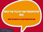 Speech Bubbles – PowerPoint Template