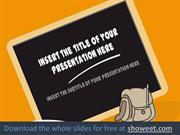 Back to School – Powerpoint Template