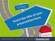 Road Signs - Powerpoint Template