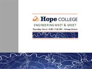 Hope Engineering Meet & Greet - What to expect