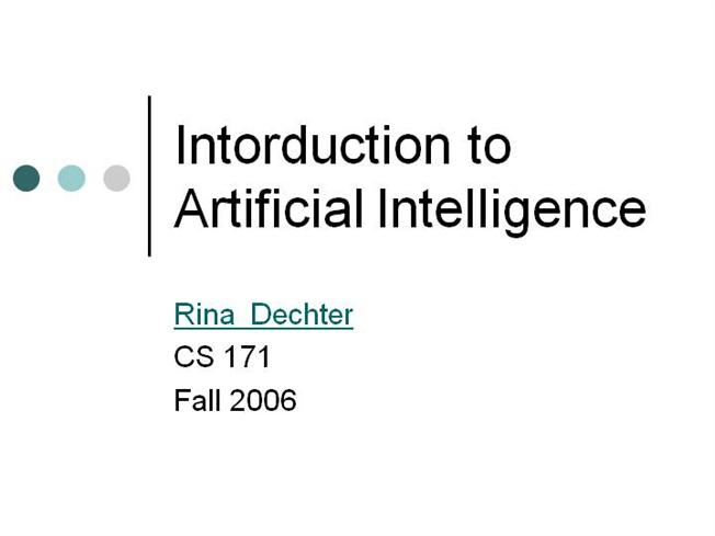 Introduction to artificial intelligence authorstream toneelgroepblik Gallery