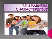 EFL LEARNERS
