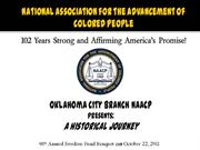 OKC Branch NAACP Hisorical Journey