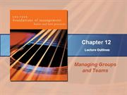 managing group and team