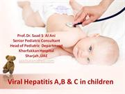 pediatric viral hepatitis