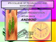 IPS COLLEGE OF TECHNOLOGY AND MANAGEMENT