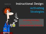Activating Strategies