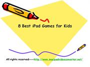 Best iPad Games for Kids - Six Best iPad Games That are Suitable for K