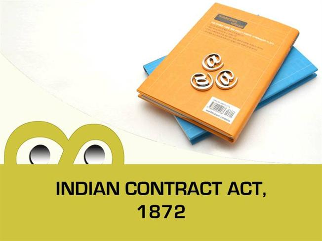 Indian Contract Act 1872 Pdf