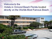 Hotels Ormond Beach Florida, Motels in Daytona Beach Shores Florida