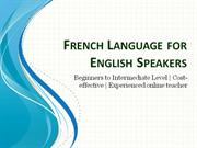French Language for