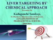 LIVER TARGETING BY CHEMICAL APPROACH