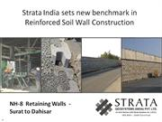 Strata India sets new benchmark in Reinforced Soil Wall Construction.1