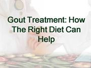 Gout Treatment: How The Right Diet Can Help