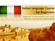 Italian Language Course | WizIQ