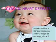CYNOTIC HEART DEFECTS