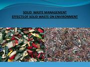 effects Solid Waste Management