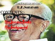 R.K. Narayan - for website