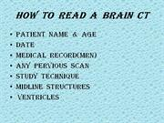 How  to  read  a  brain  ct
