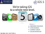 ios 5 by:- Abhishek