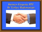 business etiquette power point presentation.ppt2