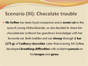 Why cat cant eat chocholate