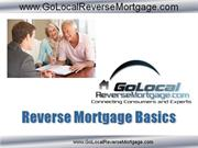 Reverse Mortgage Basics Pictures