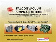 Falcon Vacuum Pumps and Systems Faridabad India