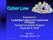 Cyber-Law