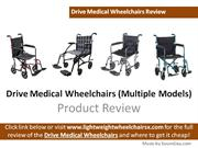 Drive Medical Wheelchair Review