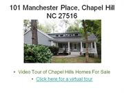 Chapel Hill Homes for Sale!