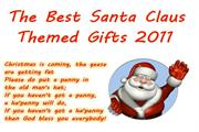 Santa Claus Themed Gifts 2011