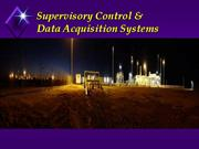 Supervisory Control & data equiciesion scada