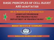 ETIOLOGY of Cell Injury
