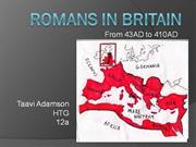 Romans in Britain (Taavi Adamson)