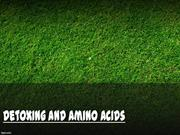 What You Need To Know About Amino Acids and Detoxing