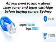 All you need to know about laser toner and toner cartridge-  etoners.c