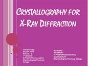 crystallography x ray