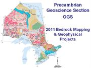 Ontario Geological Survey, Precambrian Geoscience Section