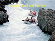 Leisure, Sport and Tourism part 1