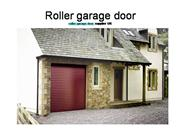 Roller garage door and garage door supli